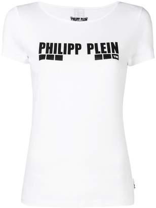 Philipp Plein logo print T-shirt