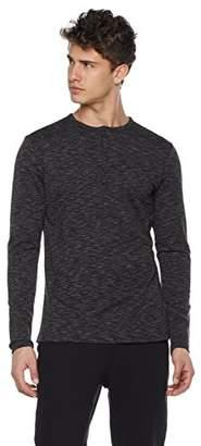 Goodsport Men's Go-Warm Thermal-Knit Long Sleeve Henley Shirt XXL