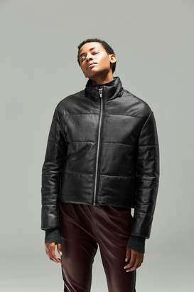 Veda Sharpe Shantung Puffer Coat