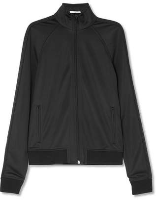 Givenchy Satin-jersey Jacket - Black