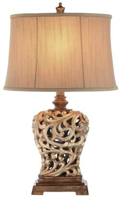 Jalexander Lighting 'Open Scroll' Table Lamp