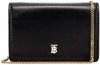 Burberry Jessie Crossbody Bag in Black | FWRD