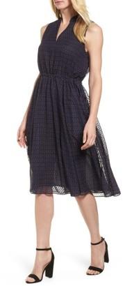 Women's Anne Klein Print A-Line Dress $119 thestylecure.com