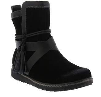 Spring Step Water Resistant Suede Boots - Patrina