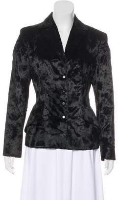 Philosophy di Alberta Ferretti Long Sleeve Button-Up Blazer
