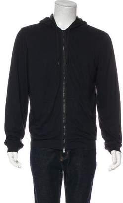 Lanvin Silk-Lined Sweatshirt