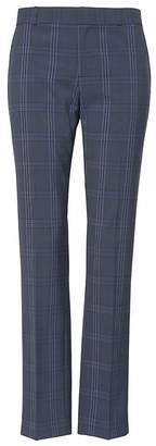 Banana Republic Petite Ryan Slim Straight-Fit Machine-Washable Italian Wool Pant