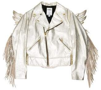 Jeremy Scott x Adidas Gold Wing Moto Jacket