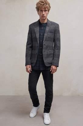 Fcus Bold Stripe Wool Blazer