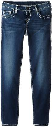 True Religion Girls' Casey Skinny Jean-Natural Super T