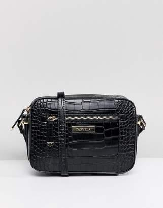 Carvela Mia Croc Across Body Bag