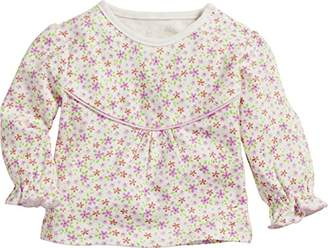 Playshoes Baby Girls' Sweatshirt Blumen,(Size: 62)
