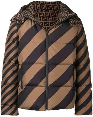 Fendi logo puffer jacket