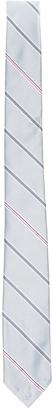 Thom Browne Engineered Stripe Silk Jacquard Tie $190 thestylecure.com