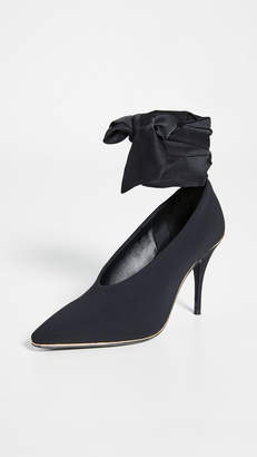 Zimmermann Ankle Tie Lycra Heel