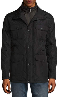 London Fog Quilted Midweight Quilted Jacket