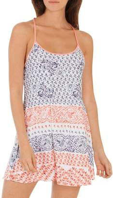 Jonquil In Bloom by Bandana Print Knit Chemise