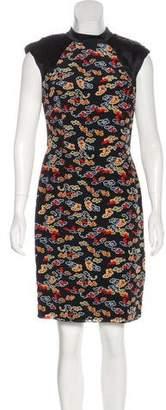 Jason Wu Abstract Print Knee-Length Dress