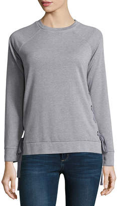 A.N.A Long Sleeve Pullover Sweatshirt - Tall