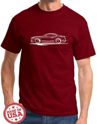 Redline Maddmax Design 2015-17 Ford Mustang GT 5.0 Coupe Series Outline Design Tshirt