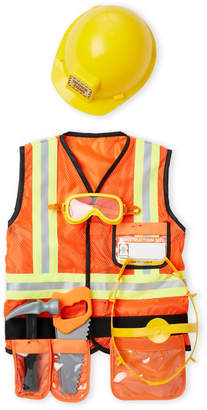 Melissa & Doug Kids) 6-Piece Construction Worker Costume