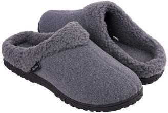 34cf4023126786 Snug Leaves Men's Cozy Memory Foam Slippers Wool-Like Plush Fleece Lined  House Shoes w