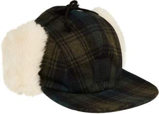 Scotch & Soda Checked Trapper Hat