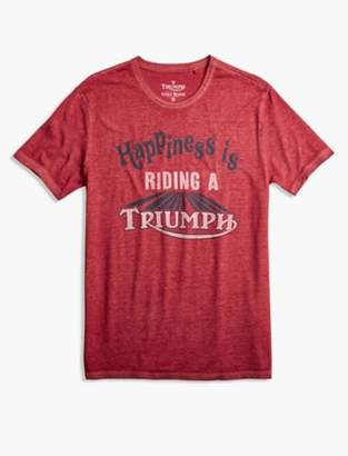 Lucky Brand TRIUMPH HAPPINESS TEE