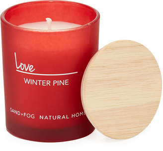 Sand + Fog Love Winter Pine Candle, 4 oz.