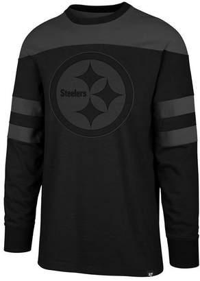 47 Men Pittsburgh Steelers Gunner Crew Long Sleeve T-Shirt ·   c59e19acc