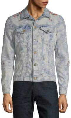 Chapa Embroidered Denim Jacket