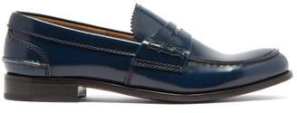 Church's Pembrey Leather Loafers - Womens - Navy