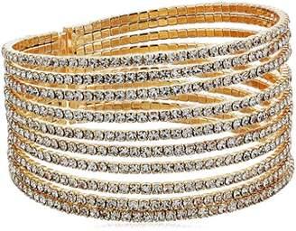 GUESS Rhinestones Cuff Bracelet