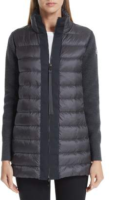 e65e00974 Moncler Grey Quilted - ShopStyle