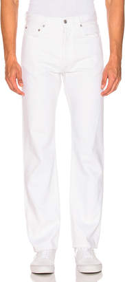 Adaptation Straight Jean in Flat White   FWRD