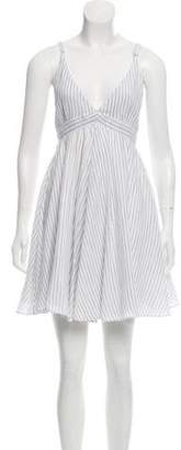 Rag & Bone Striped Sleeveless Dress