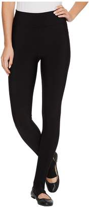 Plush Matte Spandex Stirrup Leggings with Hidden Pocket Women's Casual Pants