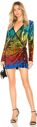 h:ours Angelo Wrap Mini Dress