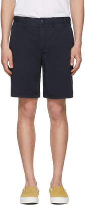 Norse Projects Navy Light Twill Aros Shorts