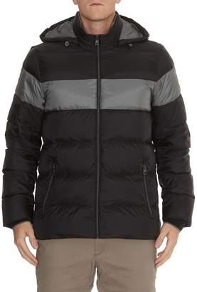 Michael Kors Block Chest Stripe Padded Jacket