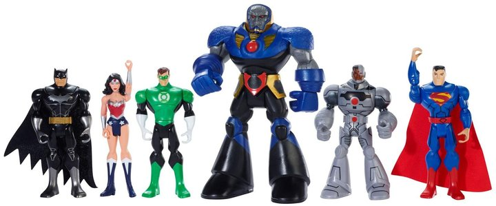 DC Comics Justice League: Heroes Unite Figure 6-Pack