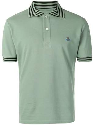 Vivienne Westwood logo embroidered polo top