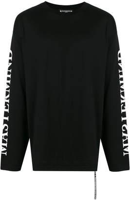 Mastermind Japan long sleeve skull print T-shirt