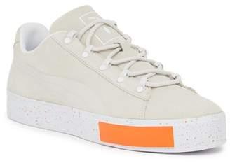 Puma X DP Court Platform Suede Sneaker