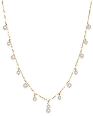 """Bloomingdale's Cultured Freshwater Pearl Dangle Choker Necklace in 14K Yellow Gold, 16"""" - 100% Exclusive"""