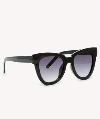 Sole Society Phip Oversize Cat Eye Sunglasses