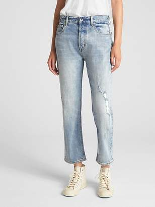 Gap Cone Denim® High Rise Crop Straight Jeans