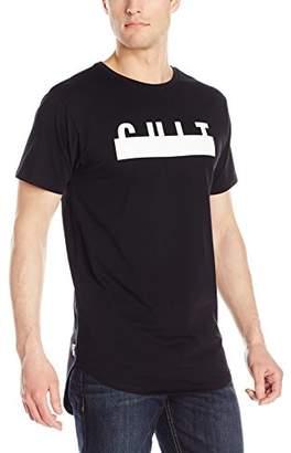 Cult of Individuality Men's Crew Scoop Bottom Logo