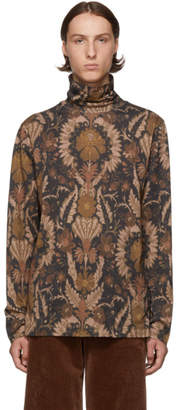 Dries Van Noten Brown Hadrion Turtleneck