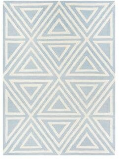 Safavieh Triangles Hand-Tufted Square Wool Area Rug